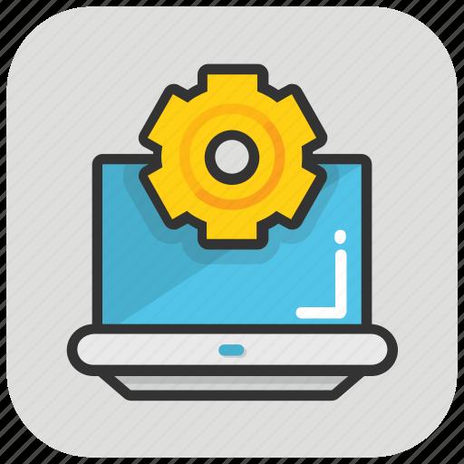 cog, preferences, programming, web development, web setting icon