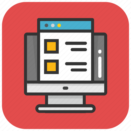 template, web design, web layout, web template, website layout icon