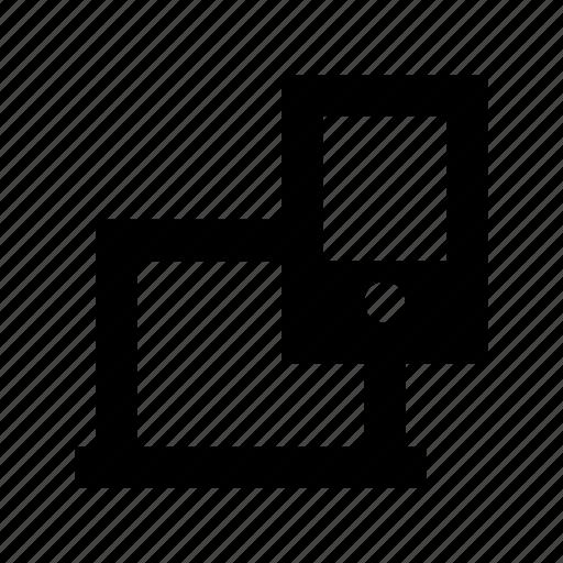 adaptive, adaptive design, layout, responsive, responsive screen icon