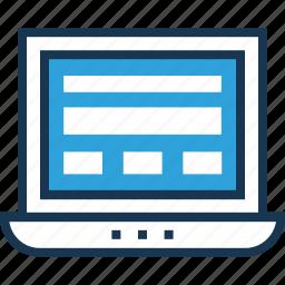 layout, ui, ui design, web, web design icon