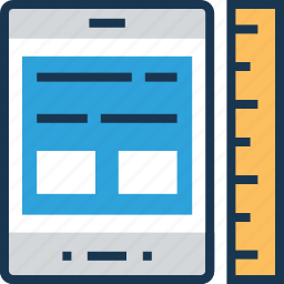 adaptive interface, interface, layout, ruler, template icon