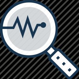 analysis, analytics, chart, graph, monitoring icon