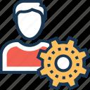 admin, avatar, manager, profile, user icon