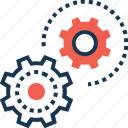 cogwheel, creative, creative process, gear, preferences icon