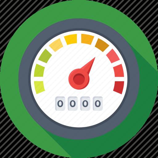dashboard, gauge, meter, speed, speedometer icon