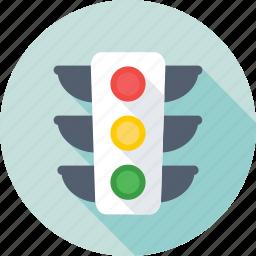 driving, signal, traffic, traffic lights, traffic signals icon