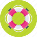 help, life belt, life ring, safety, support icon
