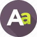 a, alphabet, english, font, letter a, text icon