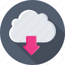 download, cloud sharing, cloud download, cloud network, computing icon