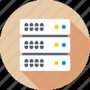 computing, database, hosting, networking, server icon