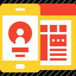 design, development, mobile, ui, user, ux, web icon
