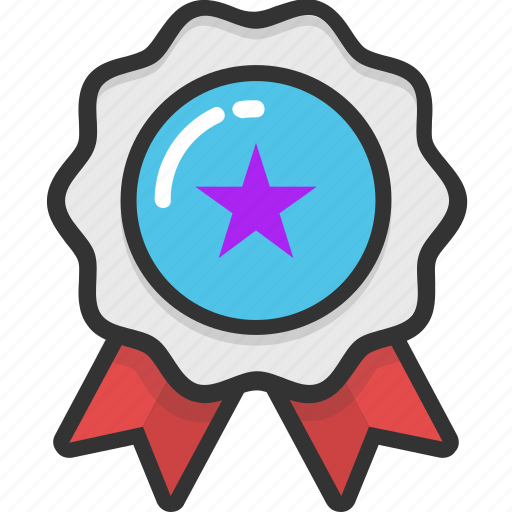 insignia, quality, ranking, rating, star badge icon