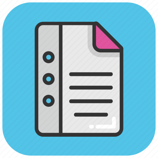 Book, diary, directory, jotter, notepad icon - Download on Iconfinder