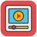 media, media player, multimedia, streaming, video player icon