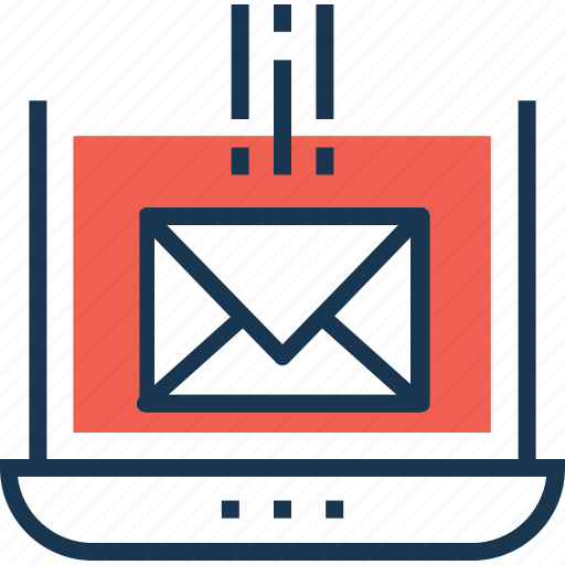 email, email marketing, feedback, message, receiving icon
