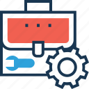 configure, customer, portfolio, service, spanner icon