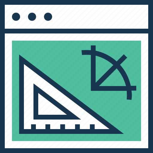 architect, artwork, draft tools, graphic design, web icon