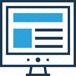 layout, template, web design, web page, website icon