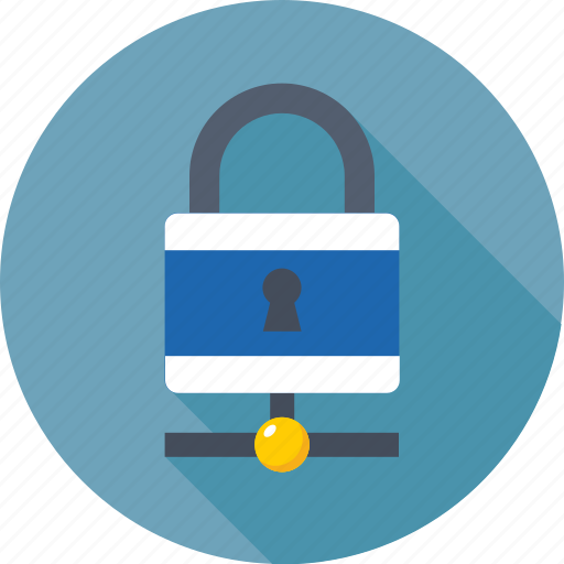 firewall, lock, network security, protection, server security icon