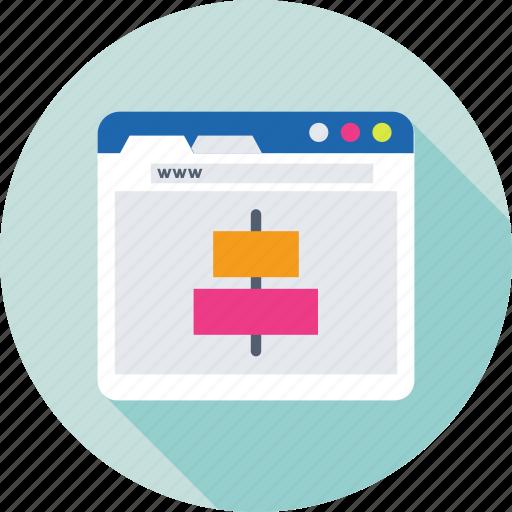 alignment, center align, formatting, sorting, web icon