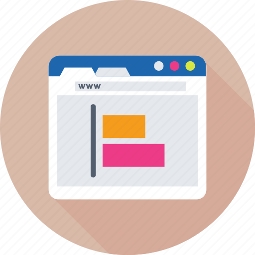 alignment, formatting, left aligned, sorting, web icon