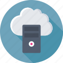 cloud computing, cloud server, cloud storage, hosting, networking icon