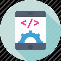 api, coding, mobile, mobile development, programing icon