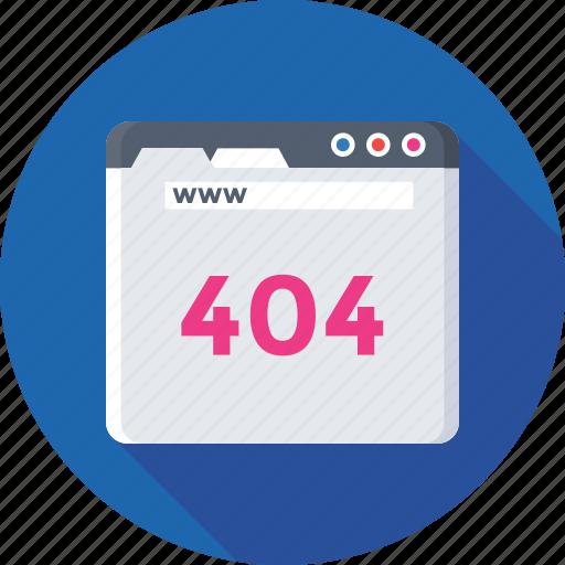 error 404, error page, http error, server error, web icon