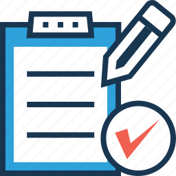checking, clipboard, concepts, testing, validation icon
