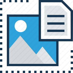 content, content file, file, landscape, seo icon