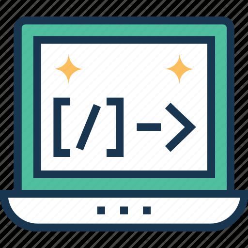 coding, custom coding, div, html coding, web development icon