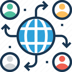 global search, globe, search, solution, worldwide icon