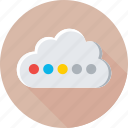 cloud, cloud computing, cloud sharing, icloud, network icon