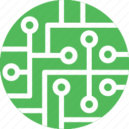 circuit, circuit print, connections, electronic, electronic board icon