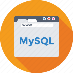 coding, database, development, mysql, web icon