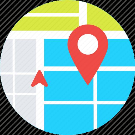 gps, location pin, map pin, map pointer, navigation icon