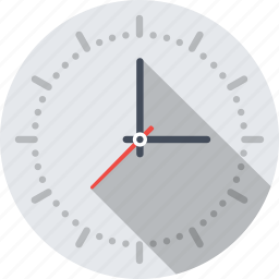 clock, deadline, time, timer, watch icon