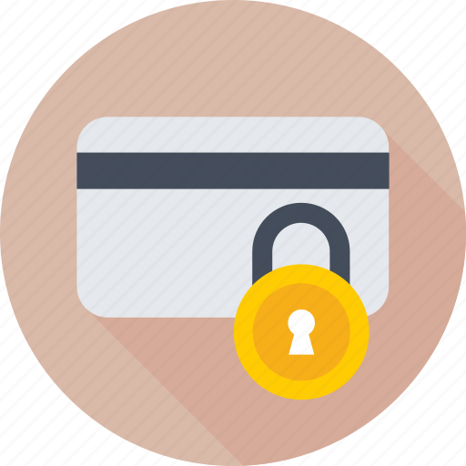 atm security, card, credit card, lock, secure payment icon