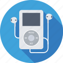 earphones, ipod, mp4, music player, walkman icon
