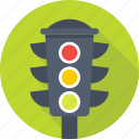 driving, signal, traffic, traffic lights, traffic signals icon