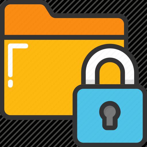 data protection, folder lock, folder protection, folder safety, folder security icon