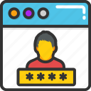 login, signin, user access, user interface, user login