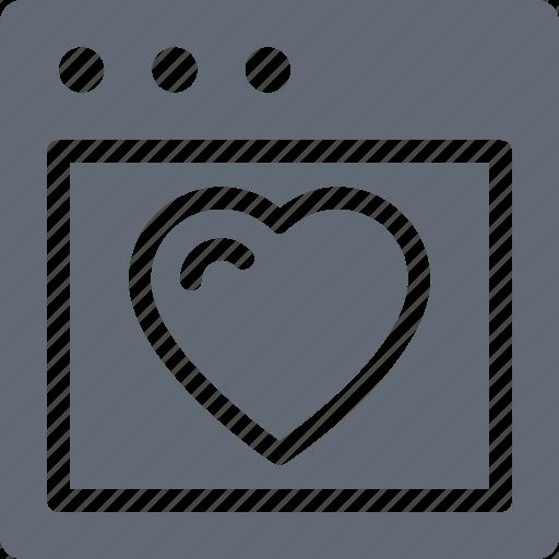 heart, heart card, love, valentine card, valentine greeting icon