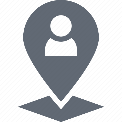 location pin, man location, map location, user location, user placeholder icon