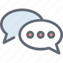 chat bubble, chat emoticons, chat smiley, chatting, speech bubble icon