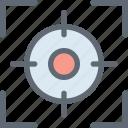 camera focus, focus selector, focus square, focus tool, graphic designing