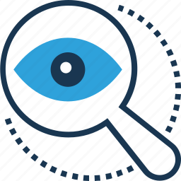 monitoring, searching, view, viewfinder, vision icon