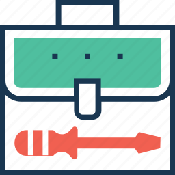bag, service, support, technical service, toolkit icon