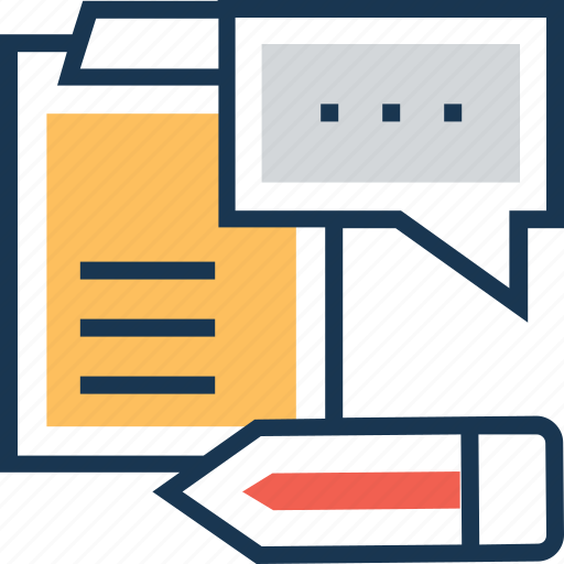 article, blogging, content writing, edit, paper icon