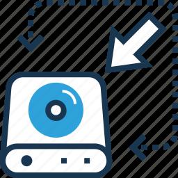 backup, data, hosting, storage, transfer icon